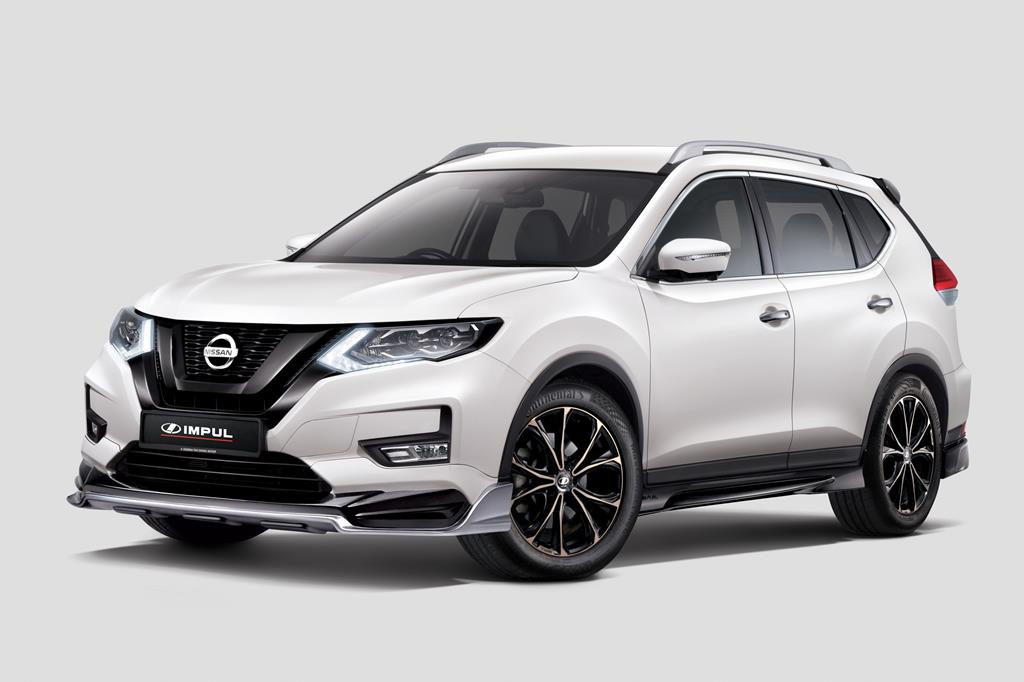 Nissan X-Trail Tuned by IMPUL_Front