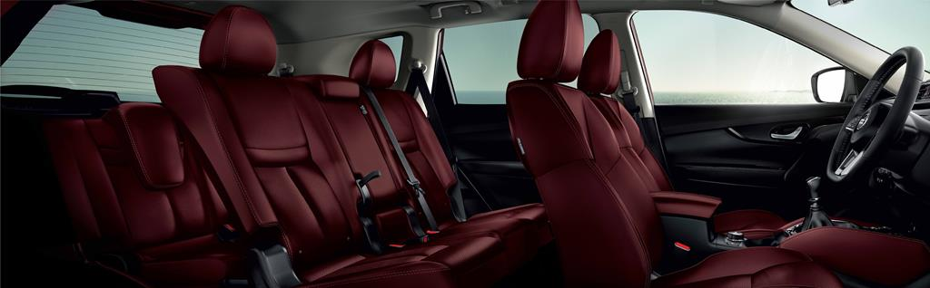 Nissan X-Trail Tuned by IMPUL_New Maroon Nappa Leather Seat